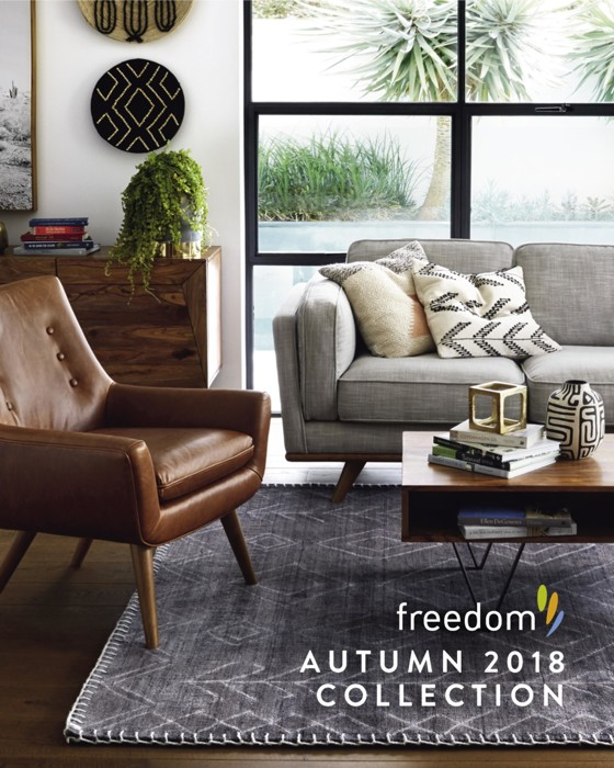 Autumn Furniture. Catalogue Freedom Furniture   Autumn 2018 Collection